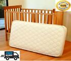 BABY COT BED TODDLER QUILTED MATTRESS WATERPROOF BREATHABLE 140 x 70 x 10 CM