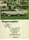 1965 Dodge Coronet Original Magazine Ad Chrysler Sugarnspice Dart Polara Monaco $8.02 USD