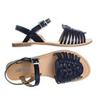 Milene Woven Fisherman Huarache Flat sandal, Women Open Toe Shoes