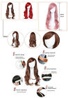 70cm Women Long Big Wavy Colourful Wig Hair Cosplay Party Costume