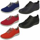 Ladies Clarks Cloud Steppers Sillian Tino Casual Lace Up Shoes