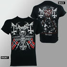 Authentic MAYHEM Band 25 Years Coat Of Arms T-Shirt S M L XL XXL Official NEW