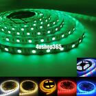 5M 3528 SMD 300 LED Flexible Light Strip Lamp 12V Power Supply Xmas Party Decor