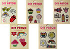 Decorative Stick Iron On Patches Customise Peace Cupcakes Jackets Bags