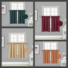 "Внешний вид - 1 Set 2-Panels Rod Pocket Silky Window Curtain Lined Blackout RS5 30""X 36"" each"