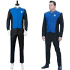 The Orville Ed Mercer Captain Cosplay Costume Officer Uniform Suit Coat Outfit