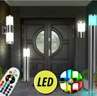 LED outdoor light dimmable floor lamps wall up down spotlight RGB remote control