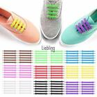 New Flat Silica Gel Shoelaces Boots Trainer Skate Canvas Shoes Colorful LEBB