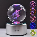 Star Wars Dragon Ball Z 3D Crystal LED Night Light Table Lamp Kids Crafts Gift