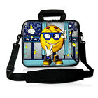 """London Style Laptop Sleeve Bag Cover Case Fo 15""""-15.6"""" HP Pavilion/Dell Inspiron"""