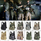 Tactical Military Vest Airsoft Waistcoat SWAT Molle Combat Assault Plate Carrier