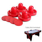 Внешний вид - 4Pcs Indoor 96mm Air Hockey Table Felt Pusher with 4Pcs 63mm Puck Mallet Goalies
