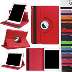 360 Rotating Shockproof PU Leather Hard Case Cover For iPad 9.7 2017 5th Gen