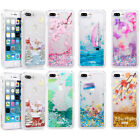 Dynamic Liquid Glitter Quicksand Clear Back Case Cover For i