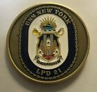 USN Navy CPO Chief Petty Officer Mess USS New York LPD 21 Never Forget Circular
