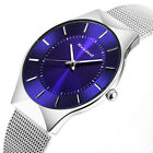 New Top Quality Brand Men Watches Luxury Watch Women Stainless Steel Analog Q