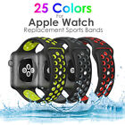 i watch apple - Sports Silicone Band Replacement Watch for Apple Watch Nike+ iWatch Series 3/2/1