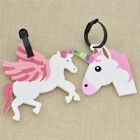 Unicorn Luggage Tag Boarding Cartoon Animal Travel Accessorie Baggage Label DIY