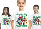 Transformers Rescue Bots Birthday Shirts Shirt T-Shirt Party Personalized Boys