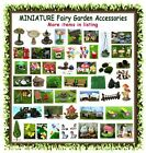 Miniature Fairy Garden Dollhouse Accessories - Model Building Mini Trees House