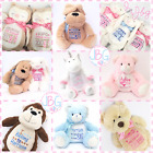 Kyпить Personalised Teddy Bears, Embroidered teddies,Birthday/Christening/New baby Gift на еВаy.соm