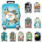 "19-29"" Cartoon Anti Scratch Luggage Cover Trunk Case Baggage Suitcase Protector"