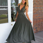 Womens Bridesmaid Wedding Maxi Dresses Evening Party Formal Long Prom Ball Gown
