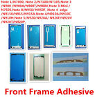 2x Original LCD Front Frame Adhesive Sticker Glue for Samsung Note 1 2 3 4 5 8