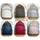 NWT MICHAEL KORS ABBEY MEDIUM FRAME OUT STUD BACKPACK BAG IN VARIOUS