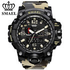 SMAEL Mens Military Watch Analog Digital Electronic Wristwatch Sports Waterproof image