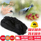 "50X50FT Anti Bird Netting Garden Poultry Aviary Game Net Nylon 2"" Mesh Screen OY"