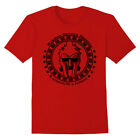 Gladiator Helmet T-Shirt Maximus Strength and Honor Workout Gym Fitness Tee