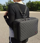 make up travel cases -  Makeup Train Case Cosmetic Travel Storage Organizer Dividers Bag Backpack