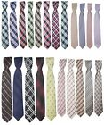 Boys Plaid Neckties Children Smart Party Wedding Kids Formal Ties In Multicolor
