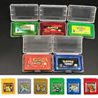 New Pokemon Games Card New Versions for Pokemon GBC/GBA GameBoy Kids Adults Gift