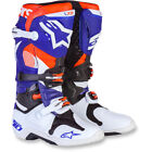 Alpinestars Tech 10 Limited Edition Indianapolis Offroad Motocross MX Boots
