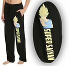 Внешний вид - Mens Womens NEW Dragon Ball Z Super Saiyan Pajama Lounge Pants Size S-2XL
