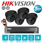 kit 8 Channel HikVision DVR Home Security 4 Fix Lens ProLux Camera in/outdoor uk