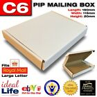 C6 Postage Boxes White Cardboard - Fits Large Letter - Small Quantities 1-5!!