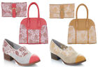 NEW Ruby Shoo Brooke Loafers & Matching Cancun Bag & Como Purse UK3-9 EU36-42