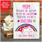 MUM YOU ARE AWESOME Personalised Mothers Day GIFTS Mummy Nanny Nan Nanna Present