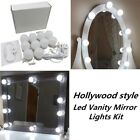 version hollywood style led vanity mirror lights kit new 10 dimmable bulbs makeu