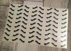 Unicorn Lashes Eye Lashes Vinyl Decal Stickers 50 Or 100 Pairs. Bauble, Glasses