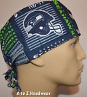 Seattle Seahawks NFL Football Team Collection Unisex Surgical Scrub Hat Cap