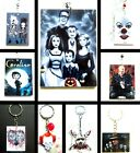 HORROR CULT FANTASY HANGING ORNAMENT OR KEYRING ACRYLIC IT BEETLEJUICE CHUCKY
