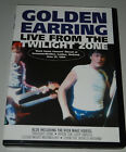 DVD - GOLDEN EARRING - Live from the Twilight Zone + 4 Video-Clips