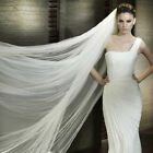2 Layers NEW Bridal Veil for Wedding Super Soft Plain Tulle with Comb on