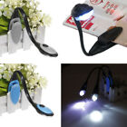 US FLEXIBLE BOOK READING LED CLIP ON BRIGHT LIGHT LAMP FOR BN Nook Simple Touch