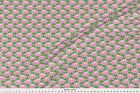 Cactus Pink Flowers Floral Succulant Fabric Printed by Spoonflower BTY