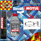 2x BENDIX 341-MF & RBF600 & P2 BRAKE PADS FLUID CLEANER FITS MOTORCYCLES LISTED